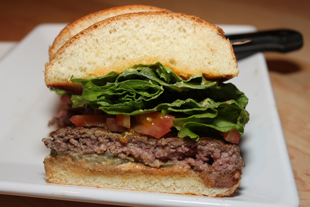 Simple Stack Burger at Stacked San Diego California Fashion Valley