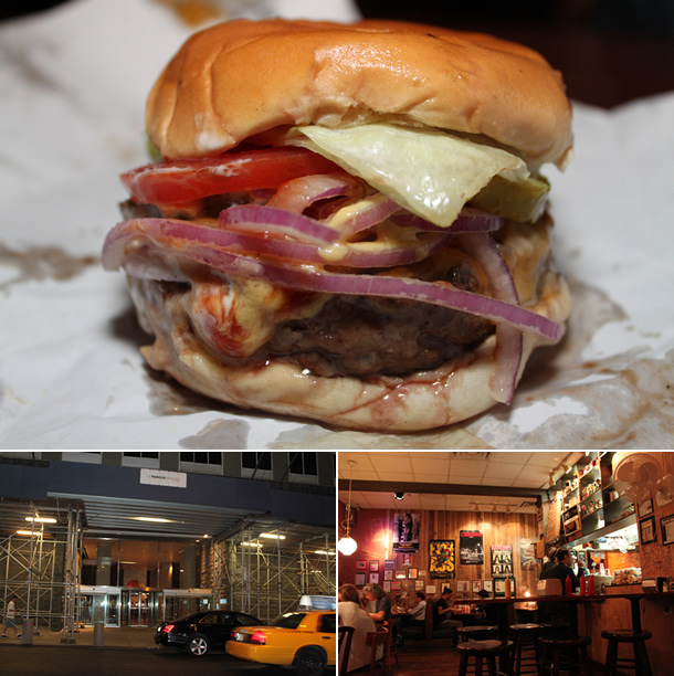 Burger Joint At Le Parker Meridien New York NY - Burger joint us map