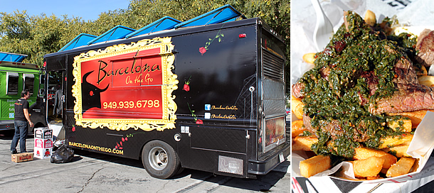 Barcelona Onthego Food Truck - Irvine California