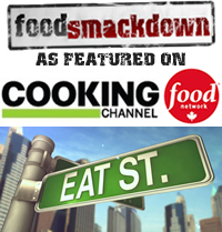 Food Smackdown - Eat St. Cooking Channel and Food Network Canada Feature
