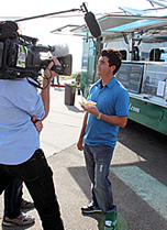 Food Smackdown Cooking Channel Eat St. Interview
