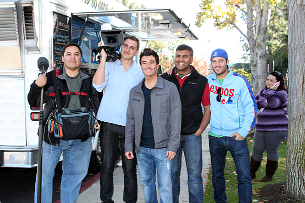 Food Smackdown with Cooking Channel's Eat St. Film Crew