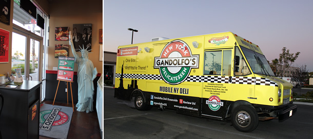Gandolfo's Food Truck Oceanside California