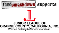 Food Smackdown Partners with The Junior League of Orange County