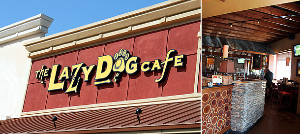 Lazy Dog Cafe - Westminster California