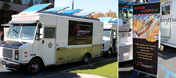 Piaggio Gourmet on Wheels - Newport Beach California