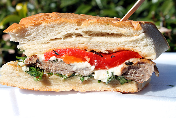 Piaggio Gourmet on Wheels Porker Sandwich