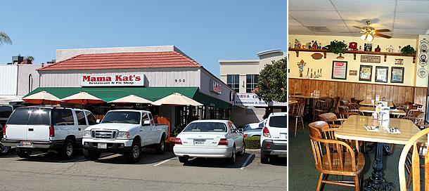 Mama Kat's Restaurant - San Marcos California