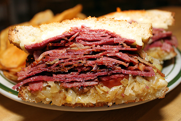 Mama Kat's Restaurant - Reuben Sandwich