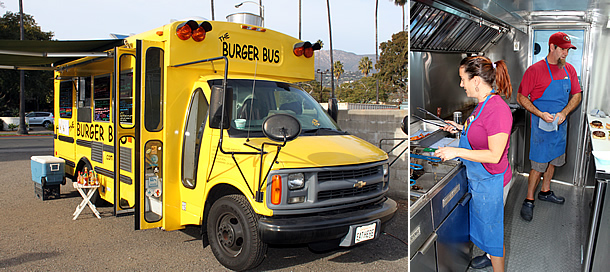 The Burger Bus - Food Truck - Santa Barbara California