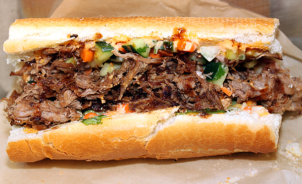 banh mi caramelized pork bánh mì pork meatball banh mi banh mi with ...