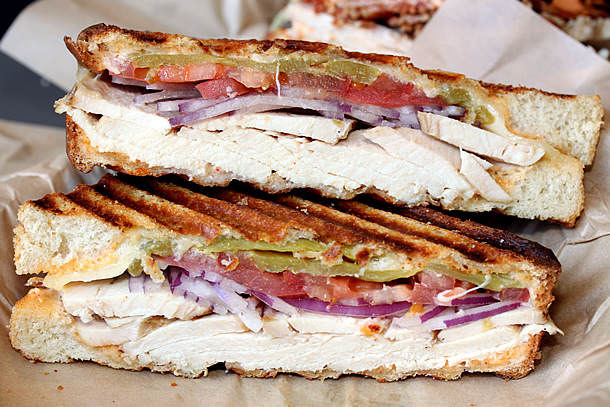 South Coast Deli - Cheesey Turkey Sandwich