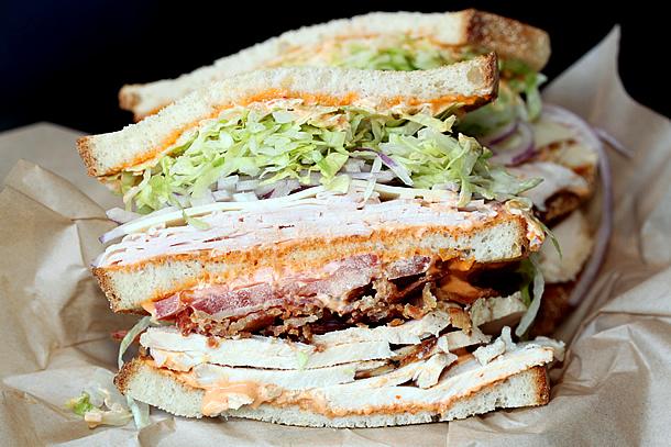 South Coast Deli - Chicken Chipotle Club Sandwich