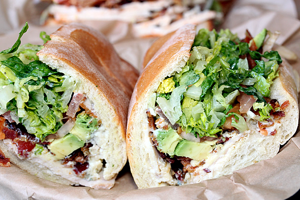 South Coast Deli - Cobb Salad Sammie