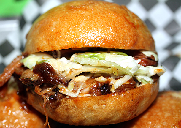 Super Q Food Truck - BBQ Pulled Pork Slider