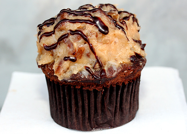 Sweet Treats - German Chocolate Cupcake