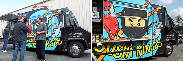 SD Sushi Ninjas Food Truck - San Diego California