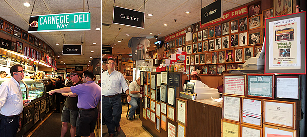 Carnegie Delicatessen - Manhattan New York
