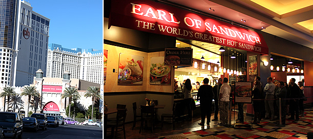 Earl of Sandwich - Las Vegas Nevada