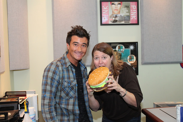 STAR 94.1 AJ in The Morning - Food Smackdown Interview