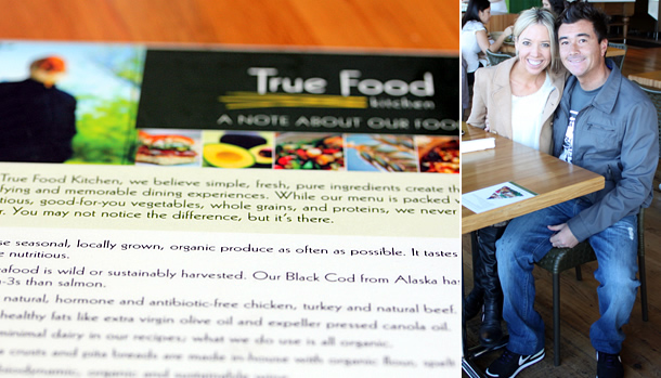 True Food Kitchen Newport Beach California