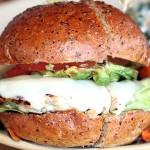 True Food Kitchen Newport Beach California - Turkey Burger