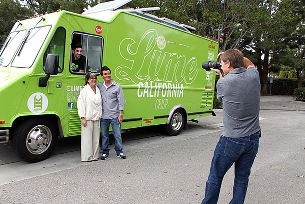 Where Women Cook Magazine Photo Shoot - Food Smackdown and Lime Truck