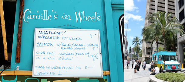 Camille's on Wheels Food Truck - Honolulu Hawaii