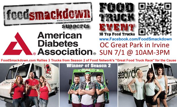 Food Smackdown Rallies Food Trucks for American Diabetes Association (ADA)