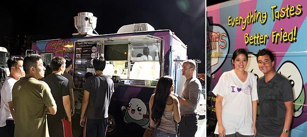 Hawaii's Fried Musubi Food Truck - Honolulu Hawaii