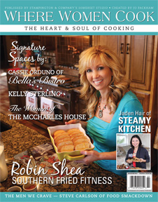 Where Women Cook Magazine - Food Smackdown Feature